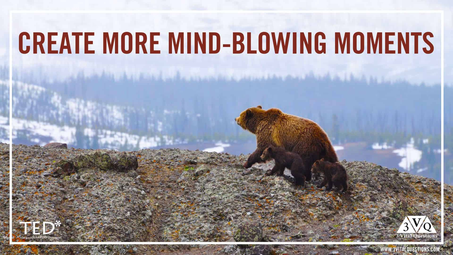 Create more mind blowing moments